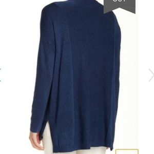 Eileen Fisher Sweaters - Eileen Fisher V-neck Cardigan Sweater Blue Zip Up